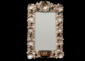 Anthony-Redmile-Rectangle-Shell-Mirror